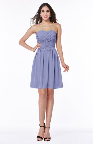 Cute A-line Sleeveless Zipper Short Ribbon Plus Size Bridesmaid Dresses