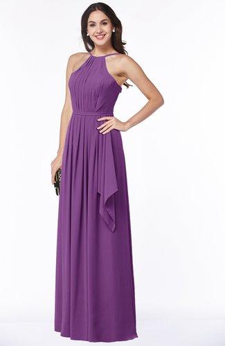 Gorgeous A-line Spaghetti Sleeveless Zipper Ruffles Plus Size Bridesmaid Dresses