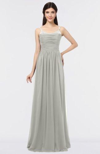 Classic A-line Spaghetti Sleeveless Appliques Bridesmaid Dresses