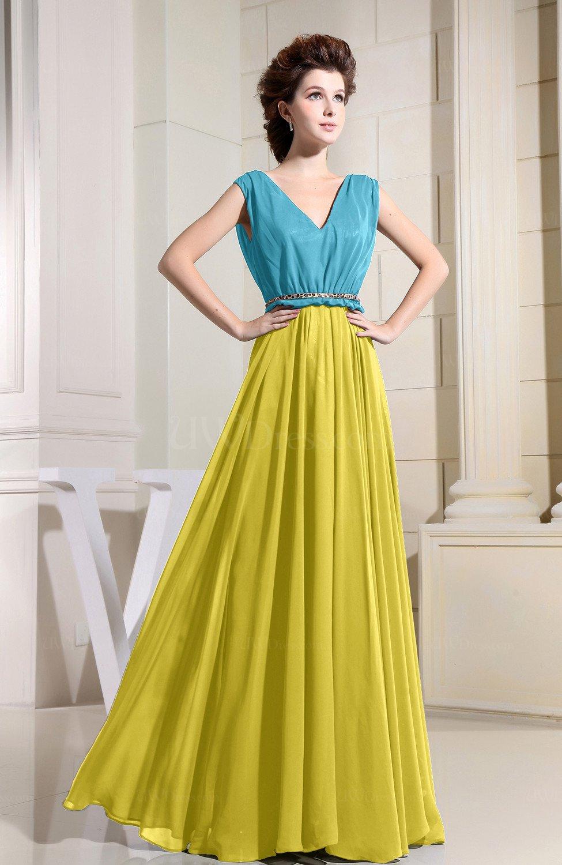 996b94ec36 Vintage Yellow Bridesmaid Dresses