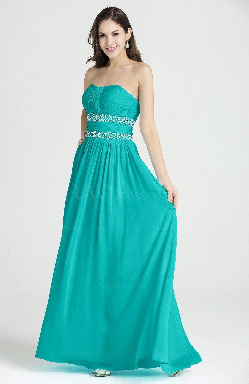 f24aa784c3e Ceramic Classic A-line Strapless Sleeveless Chiffon Rhinestone Plus Size Prom  Dresses (Style D20741)