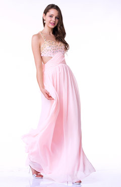 a3aed78d3c17 Antique A-line Thick Straps Sleeveless Criss-cross Straps Beaded Plus Size  Prom Dresses