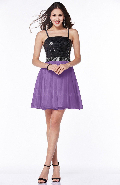 Hyacinth Cute A-line Sleeveless Chiffon30 Sash Plus Size ...