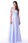 Classic A-line Sweetheart Sleeveless Floor Length Plus Size Prom Dresses