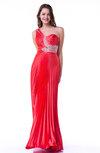 Elegant Sleeveless Zip up No Sequin Plus Size Prom Dresses