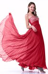 Elegant Strapless Sleeveless Zipper Floor Length Pleated Plus Size Prom Dresses