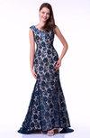 Romantic Trumpet Zipper Floor Length Sequin Plus Size Prom Dresses