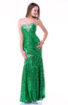 Luxury Fit-n-Flare Sweetheart Half Backless No Plus Size Prom Dresses