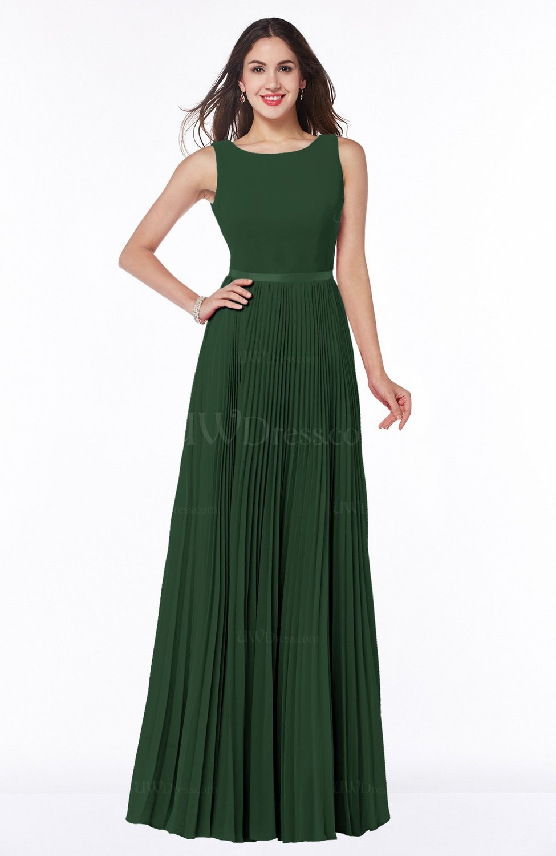 Simple A-line Chiffon Floor Length Sash Plus Size Bridesmaid Dresses 7caf3ff31d6f