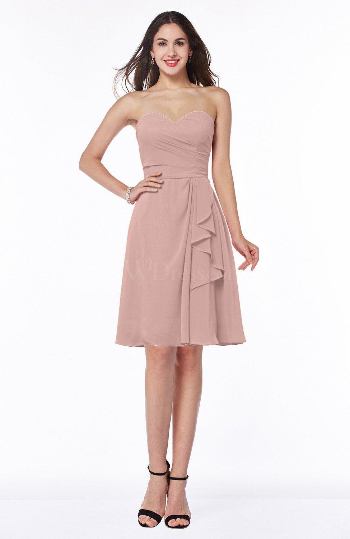 Dusty Rose Casual Dress – Fashion dresses