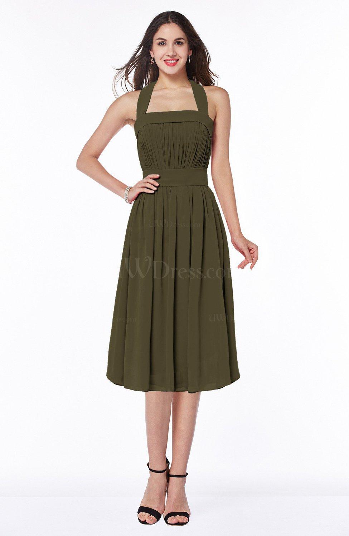 c72c42618d Tea Length Plus Size Wedding Guest Dresses | Saddha