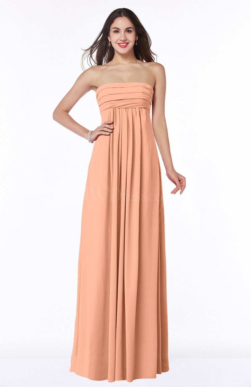 Empire Strapless Dress