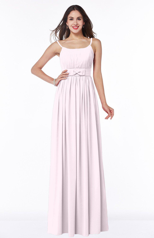 6cf1a0c29e5a Blush Glamorous A-line Sleeveless Half Backless Chiffon Floor Length Plus  Size Bridesmaid Dresses (Style D13812)