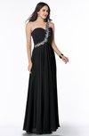 Glamorous A-line Sleeveless Chiffon Floor Length Ruching Plus Size Prom Dresses