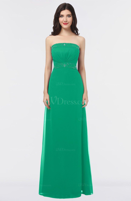 Sea Green Mature Sleeveless Criss Cross Straps Floor Length Appliques Bridesmaid Dresses