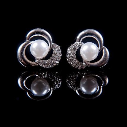 Special Stud Earrings Imitation Pearl Birthday Earrings