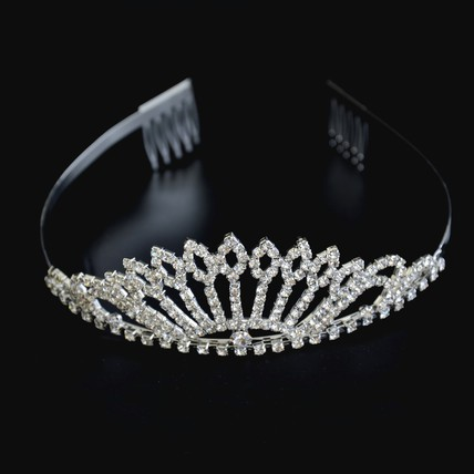 Alloy Tiaras Lovely Party Hair Jewelry
