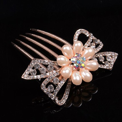 Alloy Hair Comb Exquisite Headpieces Party