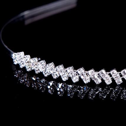 Beautiful Headbands Anniversary Headpieces Rhinestones