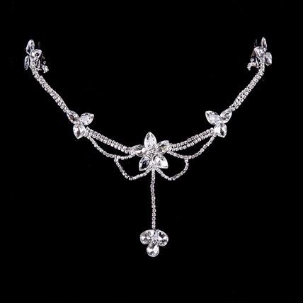 Headpieces Forehead Jewelry Elegant Rhinestones Gift
