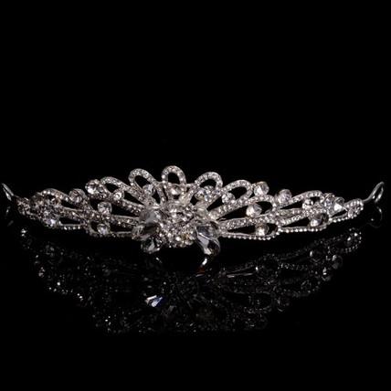 Beautiful Tiaras Anniversary Rhinestones Hair Jewelry