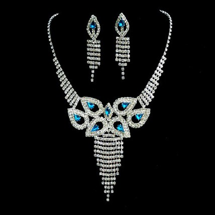 Jewelry Sets Pendant Necklaces Rhinestones Charming/Glamourous Wedding