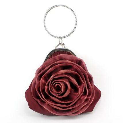 Flower Shoulder Bags Silk Lovely Single Strap