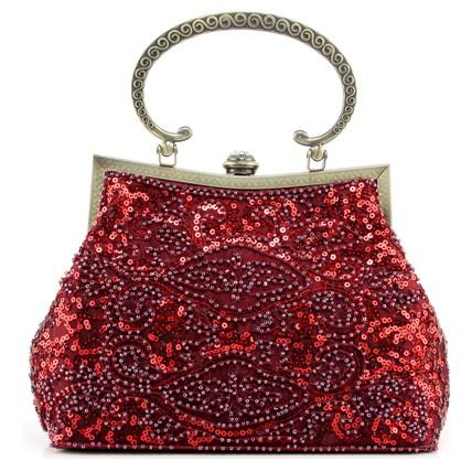 Silk Shoulder Bags Single Shoulder Strap Charming Interior Pocket