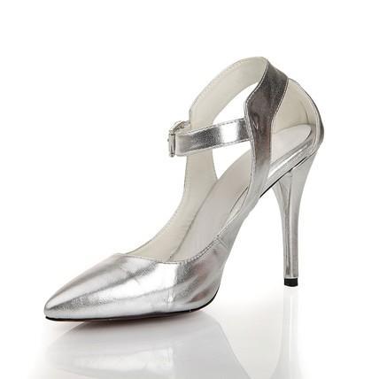 Sheepskin Sandals Outdoor Women's Average Pumps/Heels Stiletto Heel