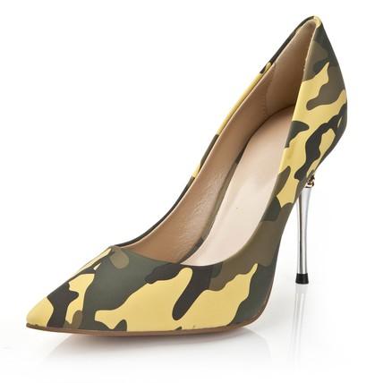 Women's Wedding Shoes Casual Average PVC Stiletto Heel Chain