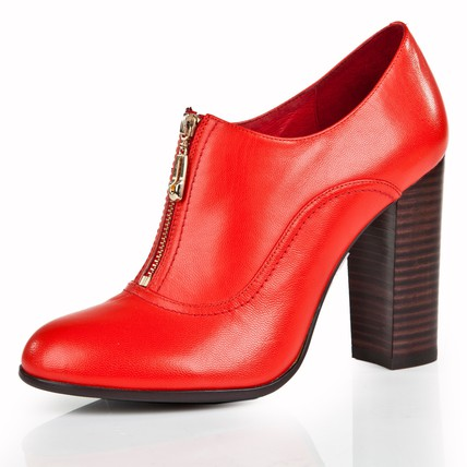 Genuine Leather Boots Average Girls' Zipper Dress Pointed Toe