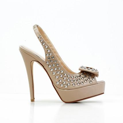 93055794a02a ... Stiletto Heel Pumps/Heels Open Toe Sheepskin Party & Evening Bowknot  Women's ...