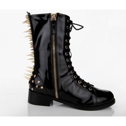 black low heel flats midcalf boots girls' average dress