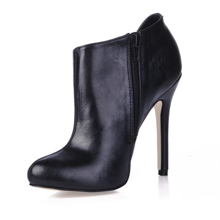 Wedding Boots Girls' PU Booties/Ankle Boots Stiletto Heel Closed Toe
