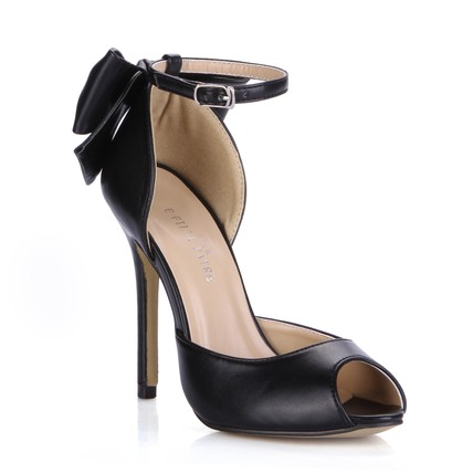 Stiletto Heel Wedding Shoes Average Bowknot PU Party & Evening D'Orsay & Two-Piece