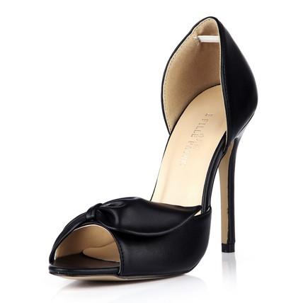 Party & Evening Sandals Stiletto Heel Ruched Girls' Average Round Toe