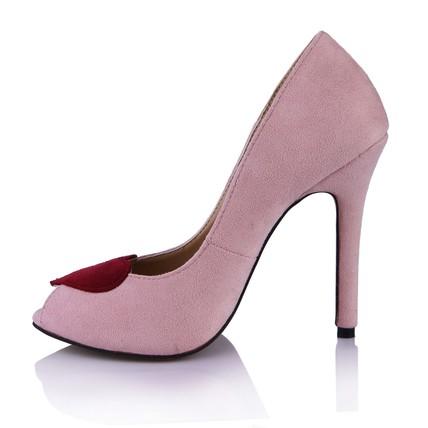 nectar pink women's pumps/heels party  evening stiletto