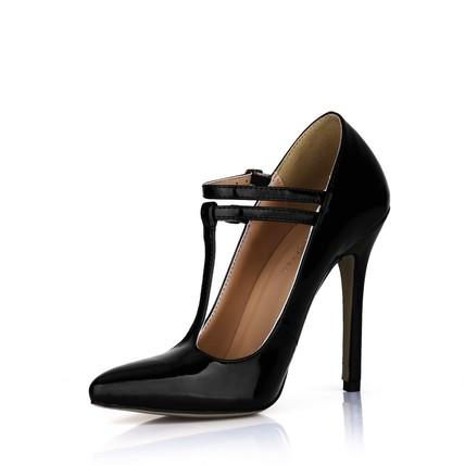 Stiletto Heel Wedding Shoes Honeymoon Narrow Opalescent Lacquers Women's Buckle