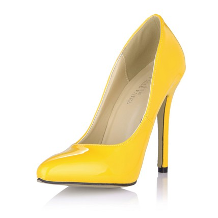 Stiletto Heel Pumps/Heels Party & Evening Opalescent Lacquers Women's Pumps/Heels Narrow