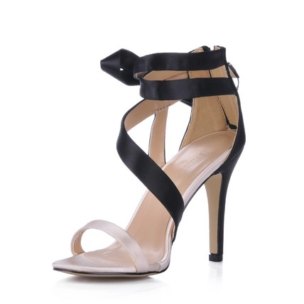 Bowknot Sandals Average Women's Silk Like Satin Pumps/Heels Stiletto Heel