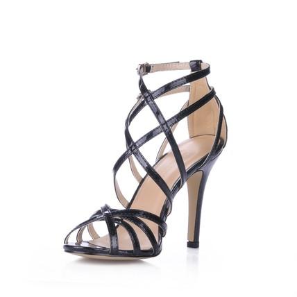 PU Dance Shoes Stiletto Heel Average Daily Women's Open Toe