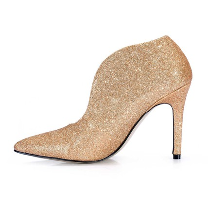 503025d459c4 ... Sequined Cloth/Sparkling Glitter Pumps/Heels Booties/Ankle Boots  Wedding Girls' Closed ...