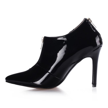Zipper Pumps/Heels Average Outdoor Women's Opalescent Lacquers Pumps/Heels
