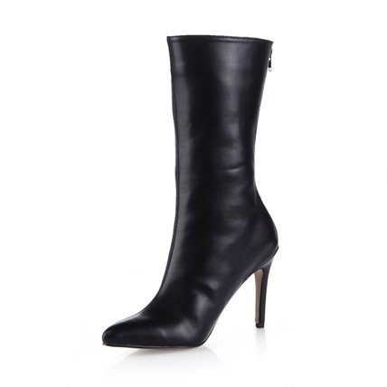 Zipper Pumps/Heels Women's Pointed Toe Average Stiletto Heel Office & Career