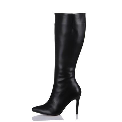 Zipper Wedding Shoes Stiletto Heel Knee High Boots Average Outdoor Girls'
