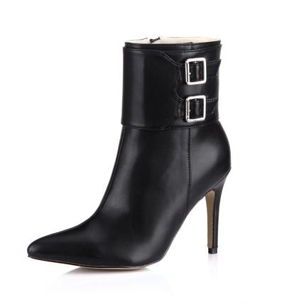 Stiletto Heel Pumps/Heels Pumps/Heels Dress Zipper Women's Booties/Ankle Boots