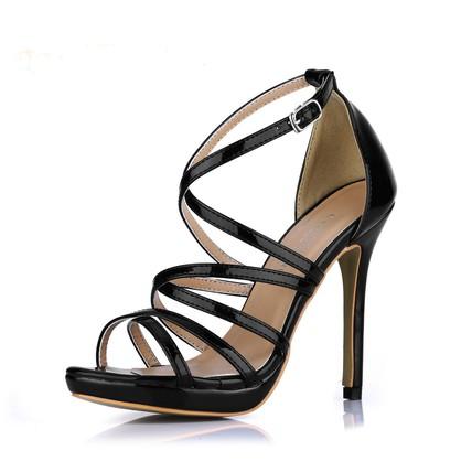 Stiletto Heel Platforms Graduation Round Toe Girls' Average PU