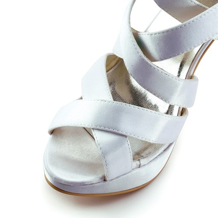 cream girls' wedding shoes graduation open toe stiletto