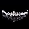 Imitation Pearl Tiaras Hair Jewelry Shining Casual