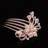 Shining Hair Comb Hair Jewelry Alloy Engagement